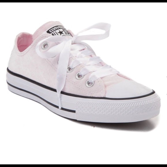 3503ab67c92a Converse Shoes - 🔥🔥🔥LIGHT PINK VELVET CONVERSE SNEAKERS SHOES